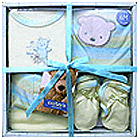 Gift set for new born ( 0-1 year) cotton fabric