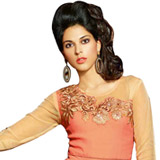Distinguished Dazzle Viscose Georgette Kurti