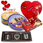 I Love You Chocolate Hamper