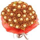 Bouquet of 24 Pcs. Ferrero Roacher Chocolates