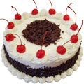 Black Forest Cake from famous bakeries Cakes n Bakes / The Bake house.