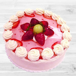 Relishing Strawberry Cake (1Lb)