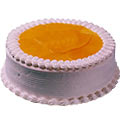 Fresh Strawberry Cake from famous bakeries Cakes n Bakes / The Bake house.