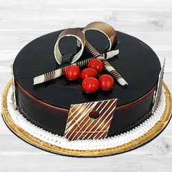 Amazing 1 Lb Dark Chocolate Truffle Cake