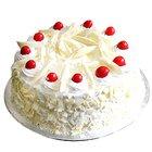 Taste-of-Soothe 1/2 Kg Vanilla Eggless Cake
