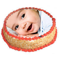 Cheering Gobble 2 Kg Butterscotch Photo Cake