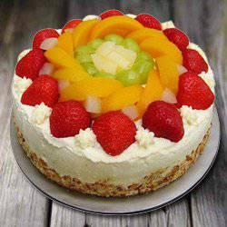 Longing's Love 1 Kg Egg-less Fresh Fruit Cake