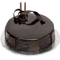 Chocolate Coated 3/4 Star Bakery s 1 Lb Dark Chocolate Cake