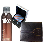 Classy Hamper of Gents Accessories