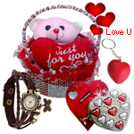 You are My Life Valentine Hamper