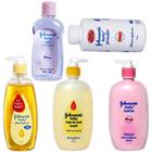 Johnson and Johnson-Baby Shampoo 475 ml, Baby Oil - 500 ml, Baby Top-to-Toe Wash 500 ml, Baby Powder - 700 gms, BABY LOTION 500ml