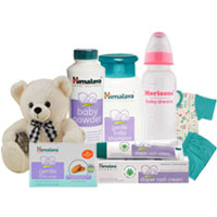 Dashing New Born Gift Arrangement from Himalaya