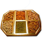 Mixed Dry Fruits 1 Kg.(Gross Weight) (Almond, Raisin, Khurmani, Cashew)