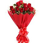 Sweetly Stunning Red Roses Bouquet