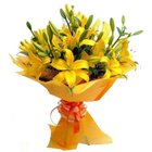 Spirited Bouquet of Engrossing Lilies