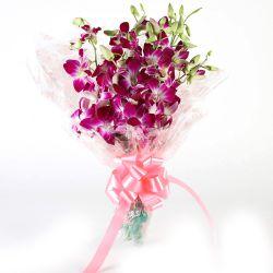 Delightful Orchids Bouquet
