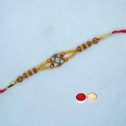 Amazing Rakhi with Artful Work