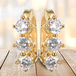 Sparkling Streak Earrings