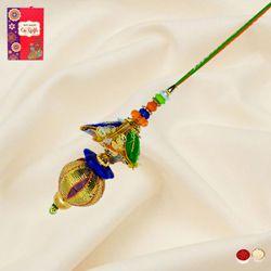 Lovely Bhabhi's Designer Lumba Rakhi