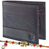 Conventional yet very stylish leather wallet from Titan for gents