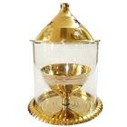 Spectacular Borosil Akhand Diya (Brass)