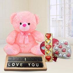 Amazing Best Forever I Love You Chocolates Gift Hamper