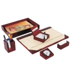 Leather Desktop Planner Set 2