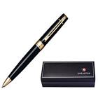 Captivating Gloss Black Gold Tone Trim Ball Point Pen From Sheaffer