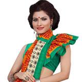 Lovely Multicolour Art Silk Printed Saree Collection