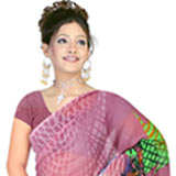 Pretty Women Special Georgette Printed Saree from Suredeal