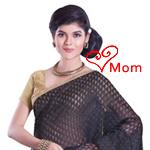 Exclusive Glitz Net Chanderi Saree
