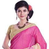 Spruce Confidence Chanderi Saree