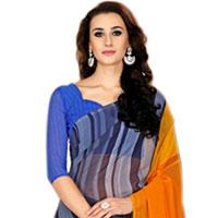 Elegant Marble Chiffon Saree in Multiple Colors