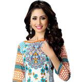 Popular Colour Co-Ordinated Cotton Printed Suredael Women Suit