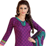 Elegant Women's Siya Collection Crepe N Chiffon Printed Salwar Suit
