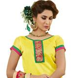 Cultured Vigor Chanderi Dress Material