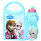 Smart Looking Lunch Break Disney Frozen Pattern Tiffin Set