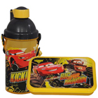 Wonderful School Time Disney Car Pattern Tiffin Set