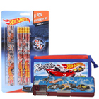 Smashing Kids Delight Hot Wheels Designed Stationery Set