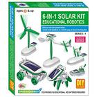 Fantastic 6-in-1 Solar Robotics Toy Set