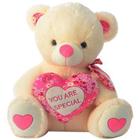 Pretty Teddy Bear with a Stylish Heart