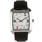 Outstanding Metallic Dial with Leather Straps Gents Watch from the House of Titan Fastrack