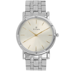 Enthralling Water Resistant Gents Watch From Titan in Golden Colour