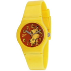 Fancy Animal Printed Yellow Coloured Kids Watch Brought to You by Titan Zoop