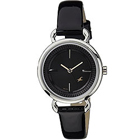Showy Black Dial Fastrack Watch for Women
