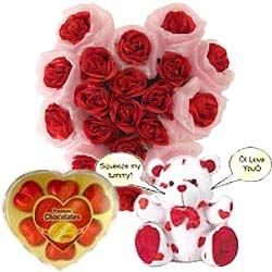 Exquisite Heart of Love Gift Set