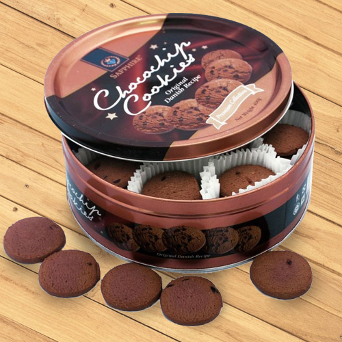 Danish Chocolate Cookies