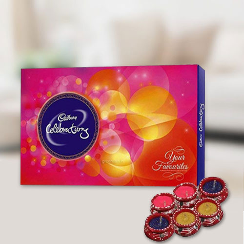 Cadburys Celebration Pack with Diya
