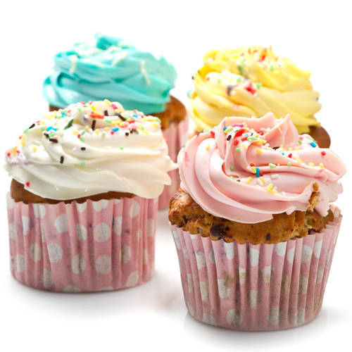 Exquisite Temptations Treat 4 Pcs. Cup Cake