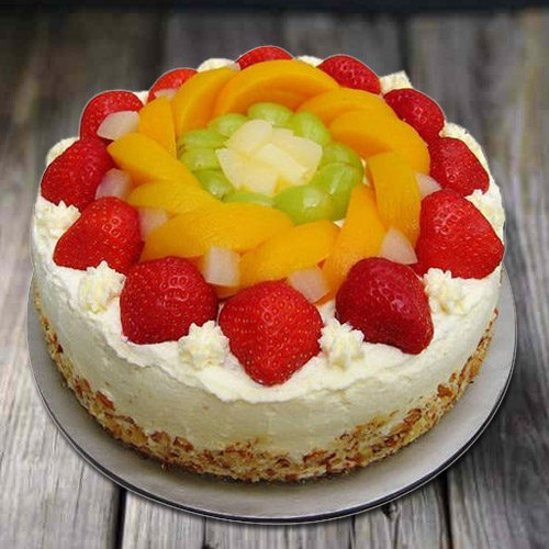 Premium Desire 1 Kg Eggless Fresh Fruit Cake